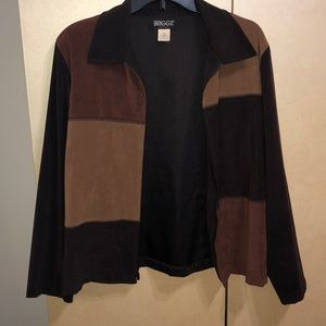 Briggs New York brown blazer